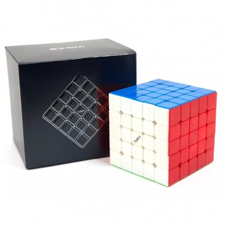 Куб за скоростно нареждане QiYi Valk5 M 5x5x5 62мм Magnetic - Stickerless