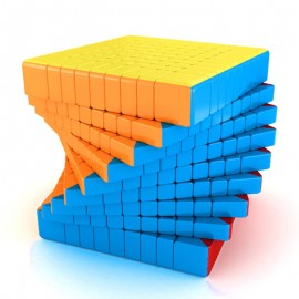 Куб за скоростно нареждане MoFang JiaoShi MeiLong 9x9x9 74мм - Stickerless