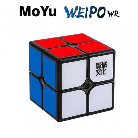 Куб за скоростно нареждане MoYu WeiPo WR 2x2x2 50мм - Черен