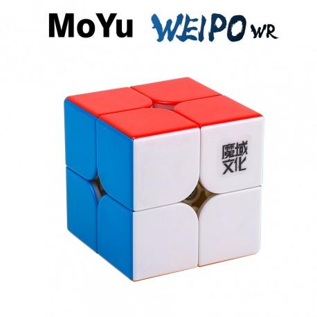 Куб за скоростно нареждане MoYu WeiPo WR 2x2x2 50мм - Stickerless