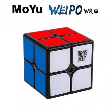 Куб за скоростно нареждане MoYu WeiPo WR M 2x2x2 50мм Magnetic - Черен