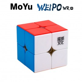 Куб за скоростно нареждане MoYu WeiPo WR M 2x2x2 50мм Magnetic - Stickerless