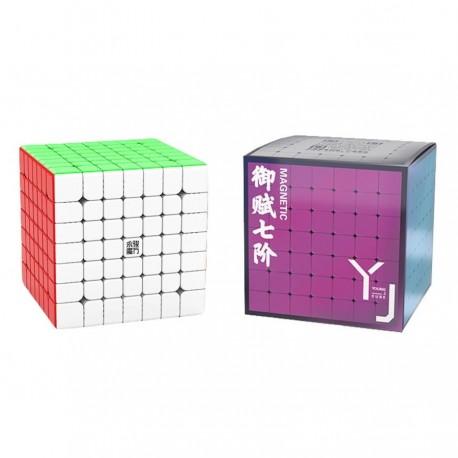 Куб за скоростно нареждане YongJun YuFu V2 7x7x7 69мм Magnetic - Stickerless