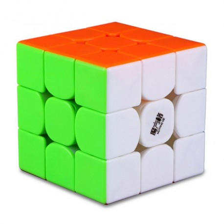 Куб за скоростно нареждане QiYi MoFangGe Thunderclap V3 56мм - Stickerless