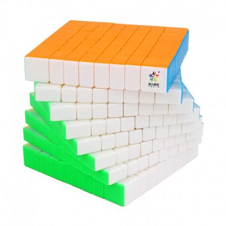 Куб за скоростно нареждане YuXin Little Magic 8x8x8 88мм - Stickerless