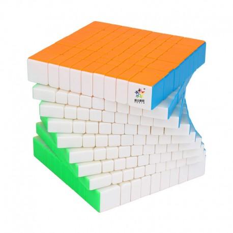 Магически куб YuXin Little Magic 9x9x9 90мм - Stickerless