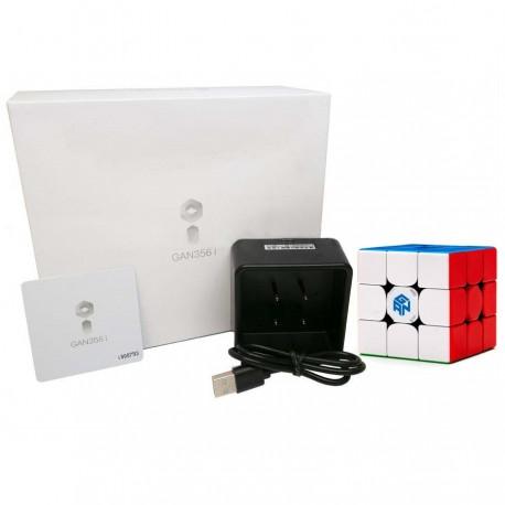 Смарт куб за скоростно нареждане Gancube Gan356i Magnetic 56мм - Stickerless