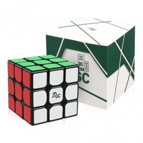 Куб за скоростно нареждане YongJun MGC 3x3x3 55.5мм Magnetic - Черен