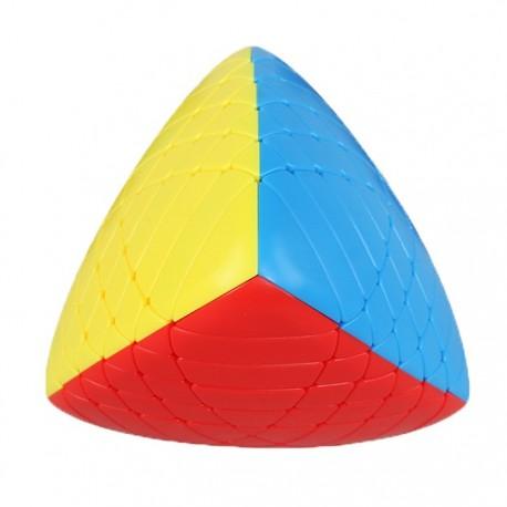 Магически пъзел ShengShou пирамиден мастърморфикс 6x6x6 - Stickerless