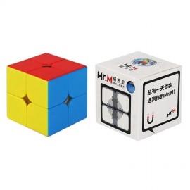 Куб за скоростно нареждане ShengShou Mr. M 2x2x2 49мм Magnetic - Stickerless