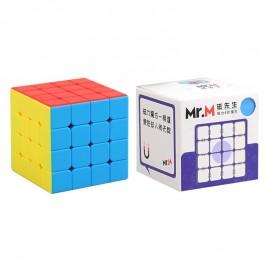 Куб за скоростно нареждане ShengShou Mr. M 4x4x4 62мм Magnetic - Stickerless