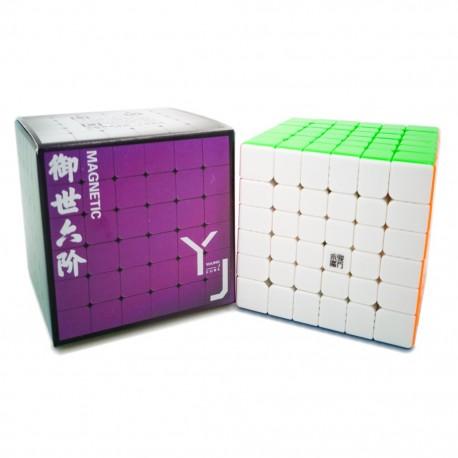 Куб за скоростно нареждане YongJun YuShi V2 6x6x6 65мм Magnetic - Stickerless