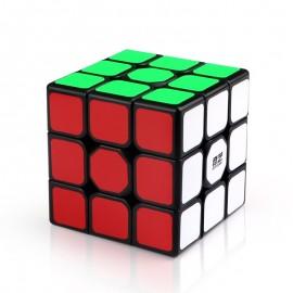 Магически куб QiYi Sail W 3x3x3 56мм - Черен