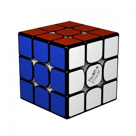 Куб за скоростно нареждане QiYi Valk3 Elite M 55.5мм Magnetic - Черен