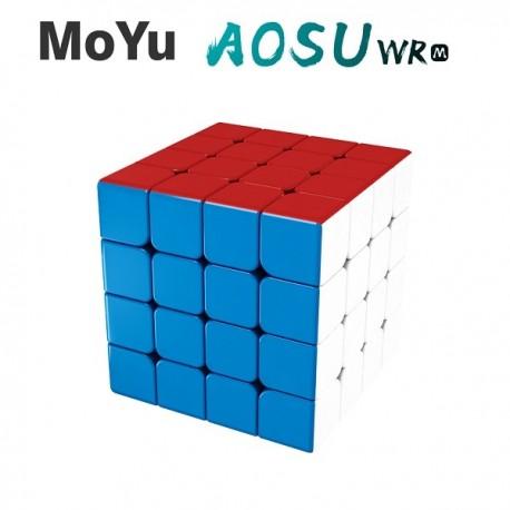 Куб за скоростно нареждане MoYu AoSu WR M 4x4x4 Magnetic 59мм - Stickerless