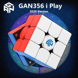 Смарт куб за скоростно нареждане Gancube Gan356i Play Magnetic 56мм - Stickerless
