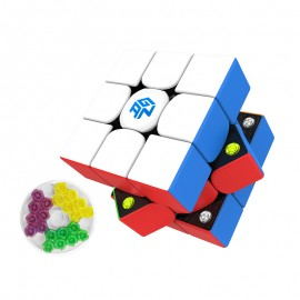 Куб за скоростно нареждане Gancube Gan356 M Standart 3x3x3 56мм Magnetic - Stickerless