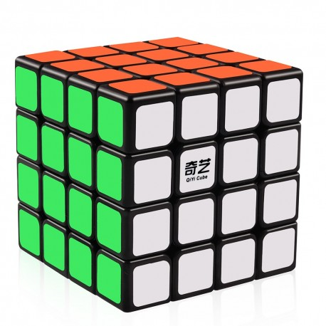 Магически куб QiYi QiYuan 4x4x4 62мм - Черен