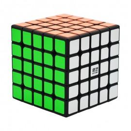 Магически куб QiYi QiZheng 5x5x5 62мм - Черен