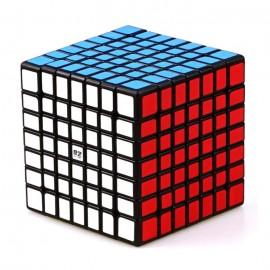 Куб за скоростно нареждане QiYi QiXing 7x7x7 70мм - Черен