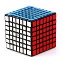 Магически куб QiYi QiXing 7x7x7 70мм - Черен