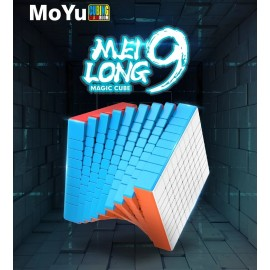 Магически куб MoFang JiaoShi MeiLong 9x9x9 75мм - Stickerless