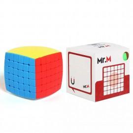 Куб за скоростно нареждане ShengShou Mr. M Pillowed 6x6x6 60мм Magnetic - Stickerless