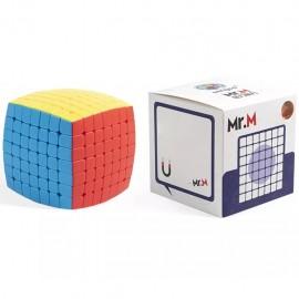 Куб за скоростно нареждане ShengShou Mr. M Pillowed 7x7x7 65мм Magnetic - Stickerless