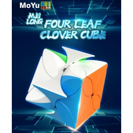 Магически пъзел MoFang JiaoShi MeiLong Four Leaf Clover - Stickerless
