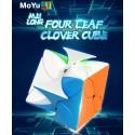 Магически пъзел MoFang JiaoShi MeiLong Four Leaf Clover - Stickerless