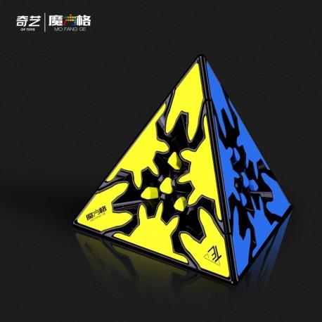 Магически пъзел QiYi MoFangGe Gear Paryminx - Гиър Пирамида