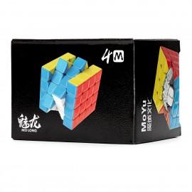 Куб за скоростно нареждане MoFang JiaoShi Meilong M 4x4x4 59мм Magnetic - Stickerless