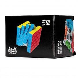 Куб за скоростно нареждане MoFang JiaoShi Meilong M 5x5x5 60мм Magnetic - Stickerless