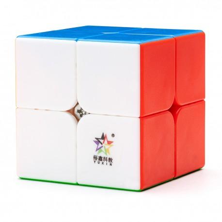 Куб за скоростно нареждане YuXin Black Kylin 2x2x2 50мм - Stickerless