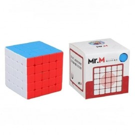 Куб за скоростно нареждане ShengShou Mr. M 5x5x5 63мм Magnetic - Stickerless