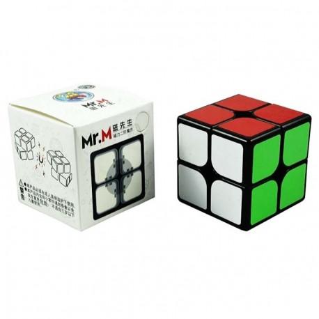 Куб за скоростно нареждане ShengShou Mr. M 2x2x2 49мм Magnetic - Черен