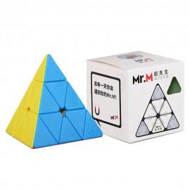 Магически пъзел за скоростно нареждане Shengshou Mr. M Pyraminx Magnetic - Stickerless