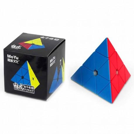 Магически пъзел MoFang JiaoShi MeiLong M Pyraminx Magnetic - Stickerless
