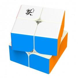 Куб за скоростно нареждане DaYan TengYun M 2x2x2 50мм Magnetic - Stickerless