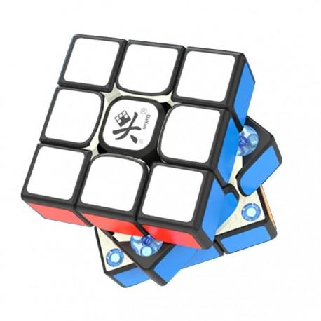 Куб за скоростно нареждане DaYan TengYun V2 M 55.5мм Magnetic - Черен