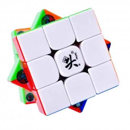Куб за скоростно нареждане DaYan TengYun V2 M 55.5мм Magnetic - Stickerless