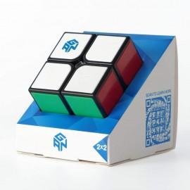 Куб за скоростно нареждане Gan GSC 2x2x2 Tiled 50мм - С цветни пластини