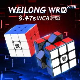 Куб за скоростно нареждане MoYu WeiLong WR M 2020 3x3x3 55.5мм Magnetic - Черен
