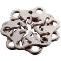 Логически пъзел Huzzle Cast Snow GR2 - метален