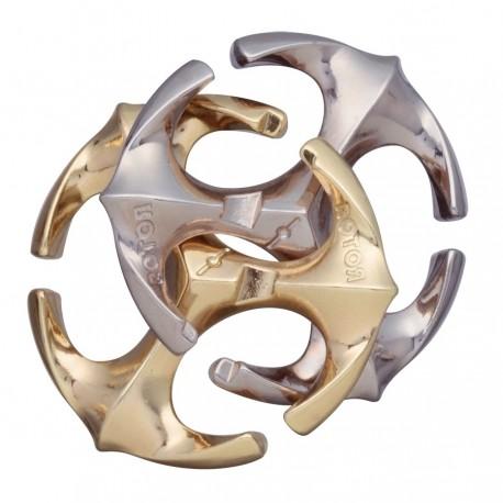Логически пъзел Huzzle Cast Rotor GR6 - метален