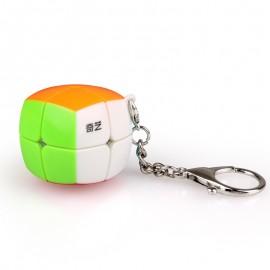 Ключодържател мини-куб QiYi MoFangGe 2x2x2 - Stickerless