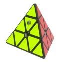 Магически пъзел за скоростно нареждане YuXin Little Magic Pyraminx - Черен