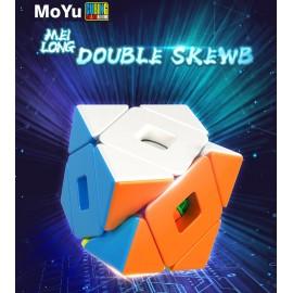 Магически пъзел MoFang JiaoShi MeiLong Double Skewb - Stickerless