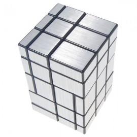 Магически пъзел CubeTwist Mirror Blocks 3x3x5 - Сребрист