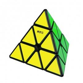 Магически пъзел QiYi MS Pyraminx Magnetic - Черен